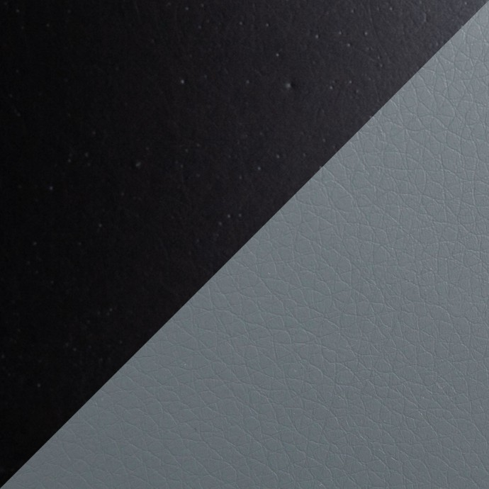 Modern round white fiberglass side table Laholm