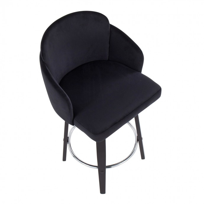 Modern fabric lounge chair Tupe