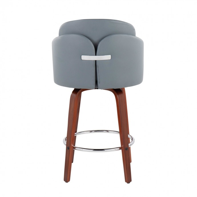 Modern Metal Bar Stool Stripe