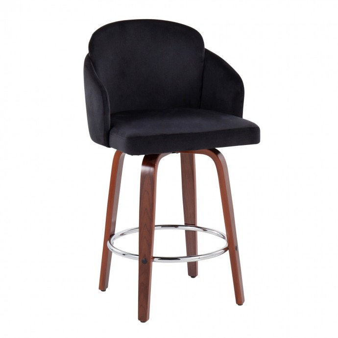 Modern Round Clear Acrylic Side Table Argo