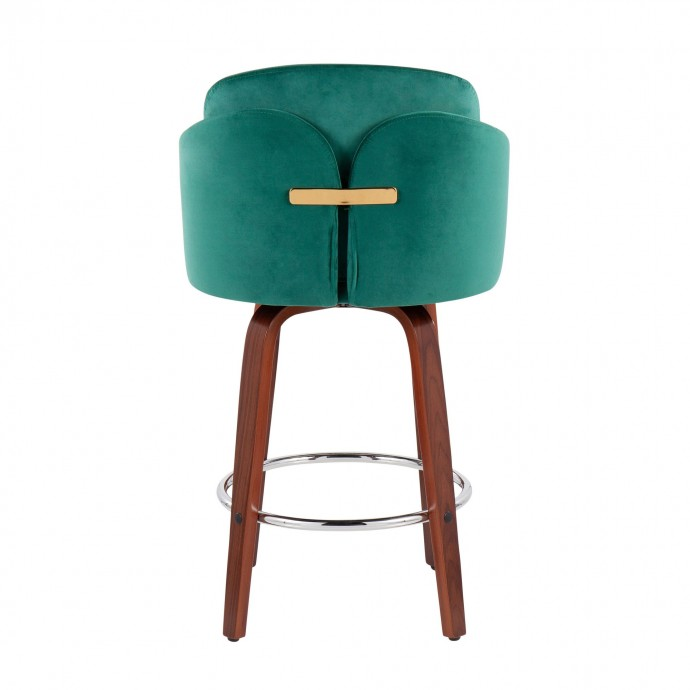 Modern Round White Side Table Lippo