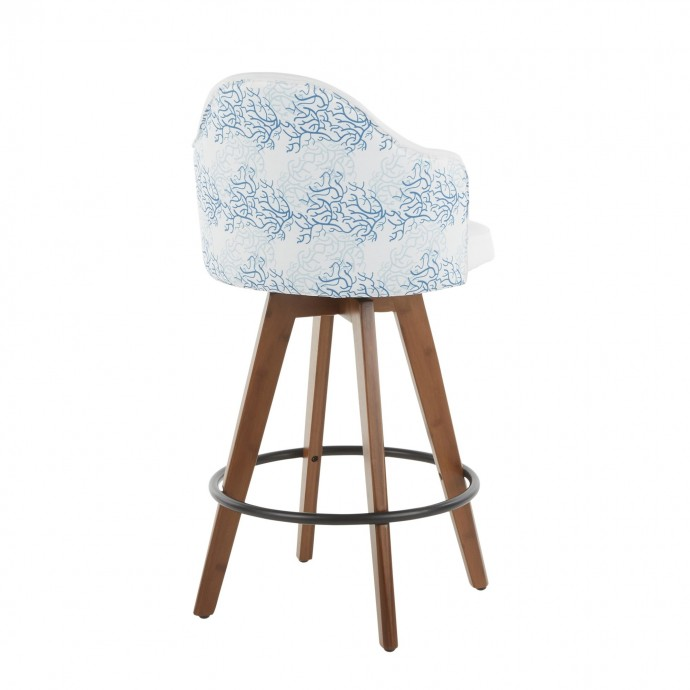 Contemporary square glass top coffee table Tobe