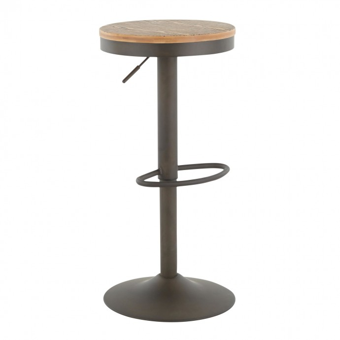 Modern Round White Marble Side Table Lippo