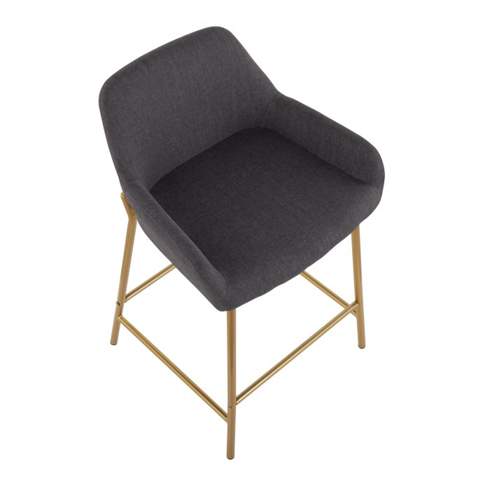 Modern Fabric Lounge Chair Flow