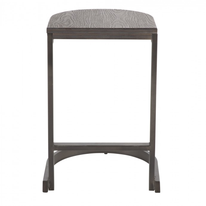 Industrial Black Cart Coffee Table Geary