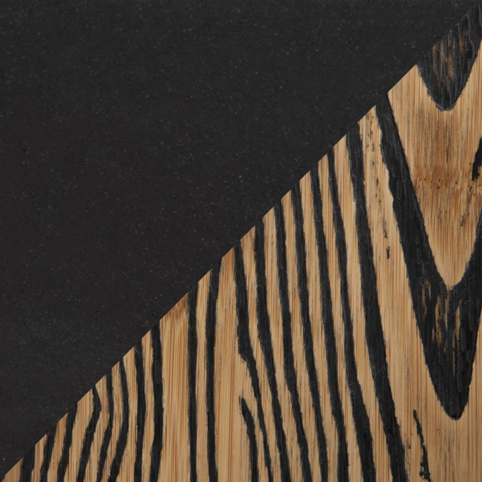 Modern Industrial Rustic Round Coffee Table Stellar