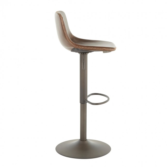 Modern Metal and Walnut Console Table George