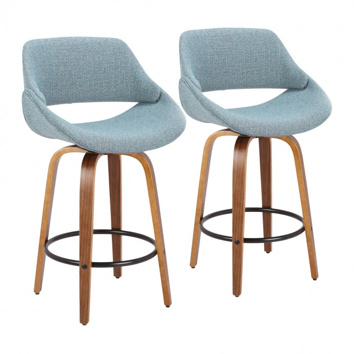 Modern Clear Acrylic Adjustable Bar Stool Cascade