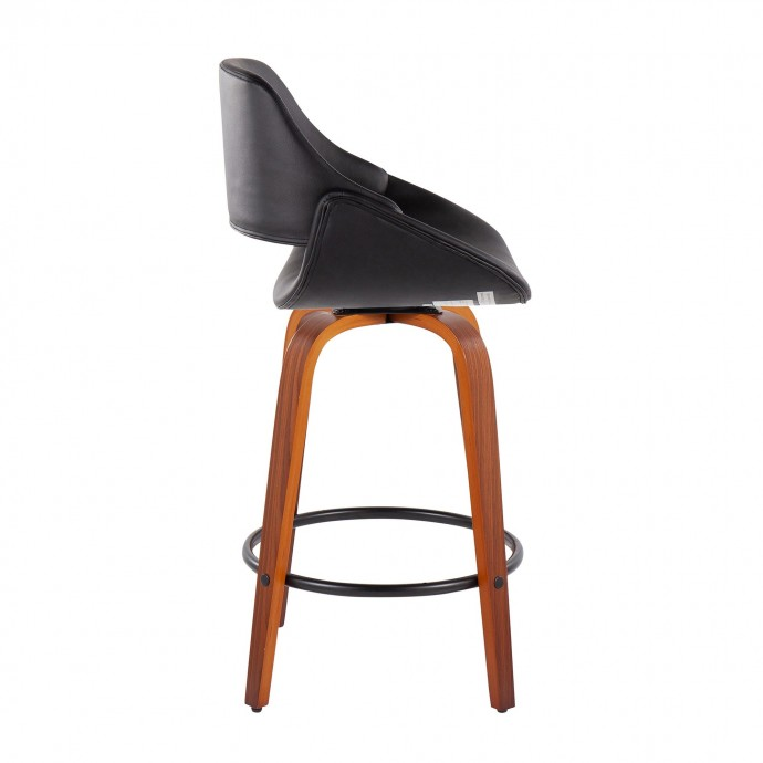 Modern Leather Bar Stool Dean