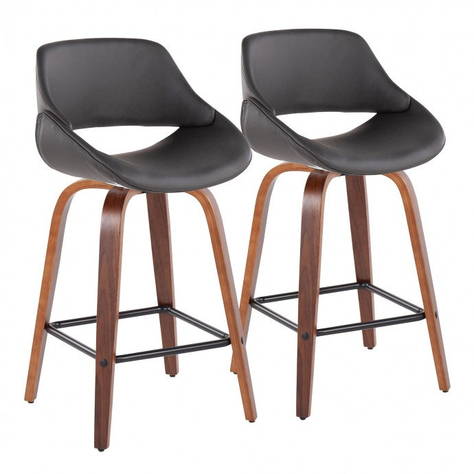 Industrial Black Wood Round Adjustable Bar Table Garage