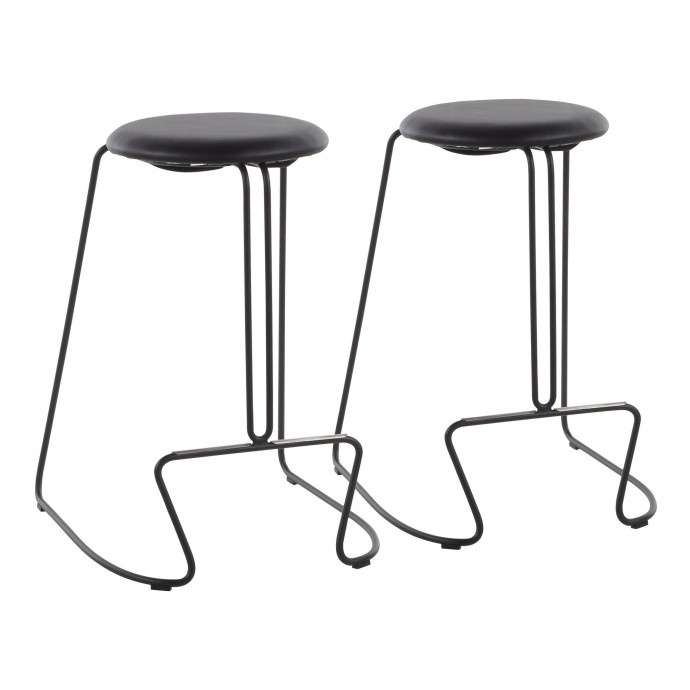 Mid-century Modern Leather Club Chair Castle