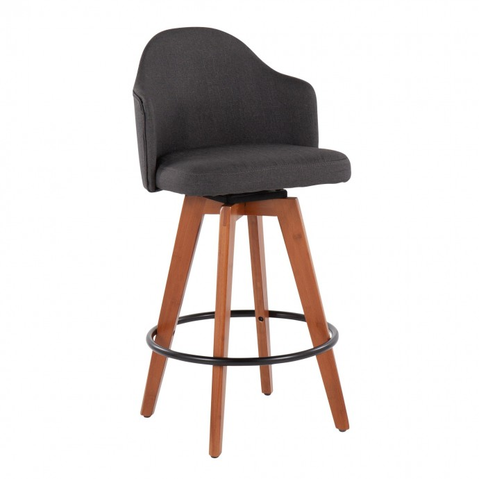 Modern White Coffee Table with Black Glass Shelf Sail