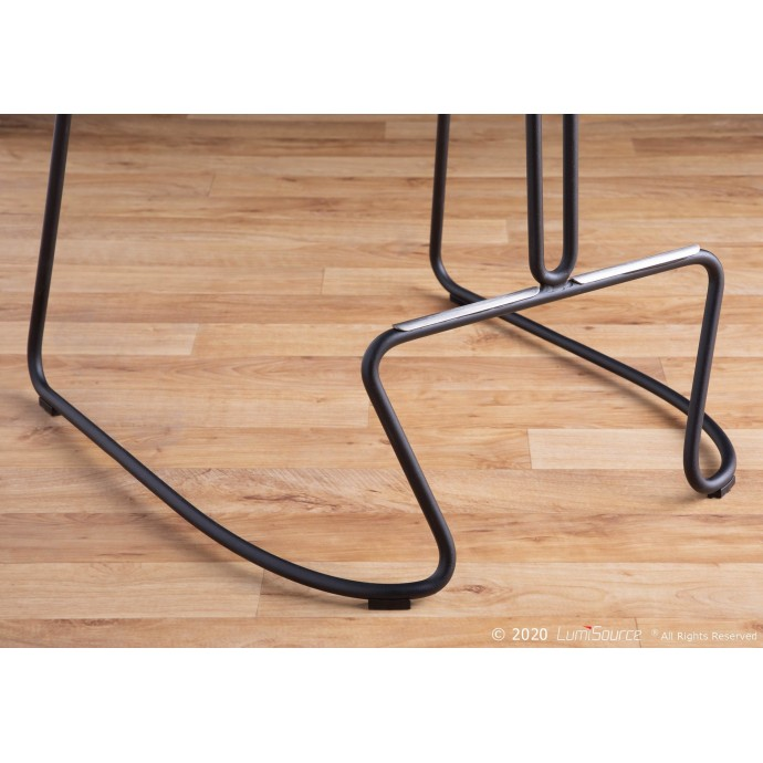 Modern Round glass coffee table Shanti