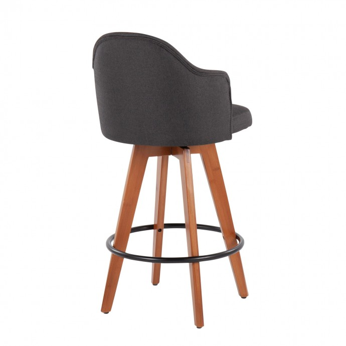 Modern Rectangular Black Veneered Coffee Table with Shelves Success