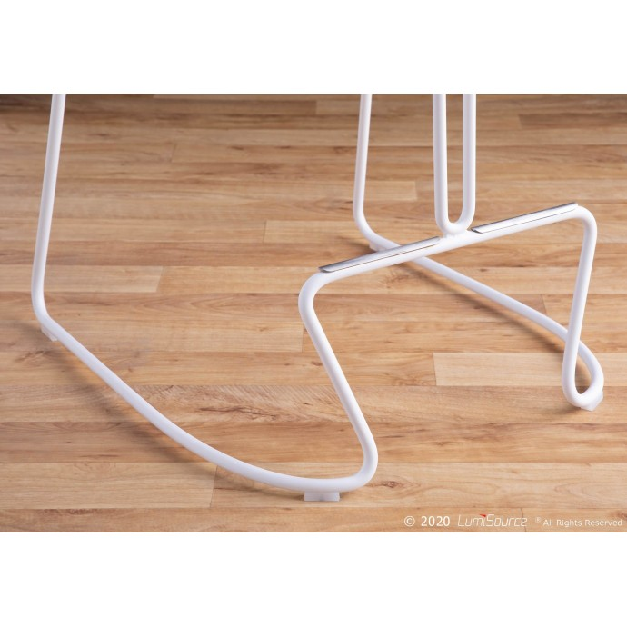 Modern fabric lounge chair with ottoman Density