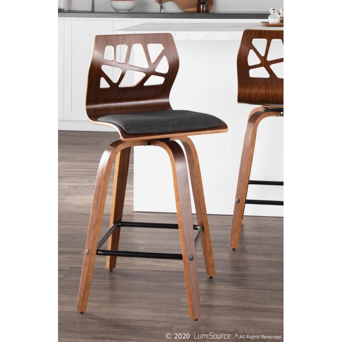 Modern Leather Lounge Chair Edgar