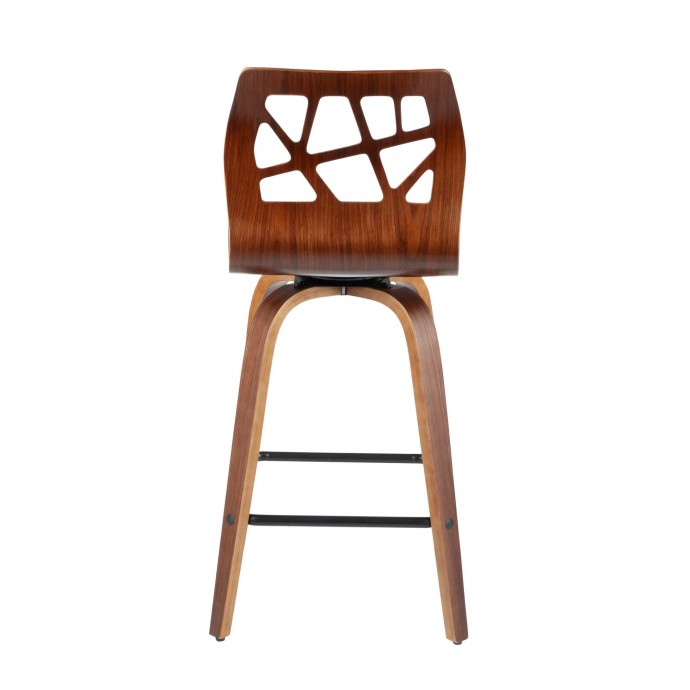 Modern Gray Leather Lounge Chair Jones