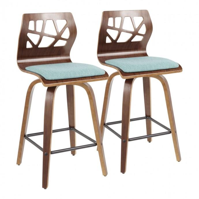 Modern Aluminum Counter Stool Bond