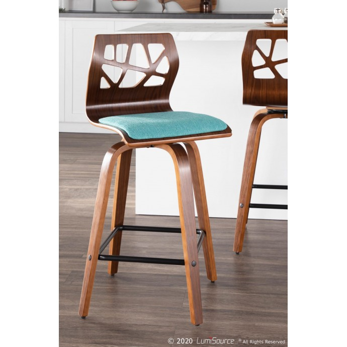 Industrial Metal Counter Stool Walk
