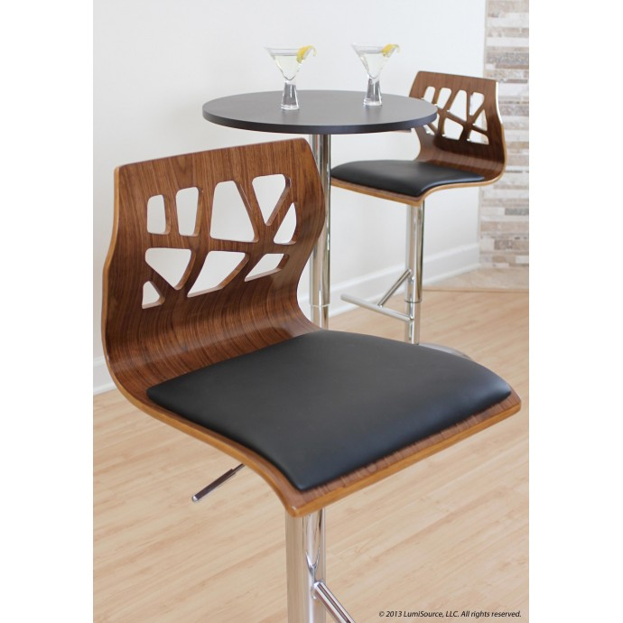 Modern Clear Acrylic Counter Stool Calbe