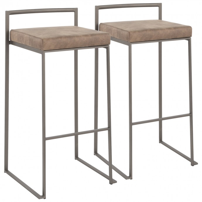 Mid-century Modern Fabric Lounge Chair Julian