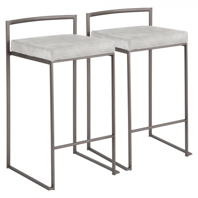 Modern white floating coffee table Cloud
