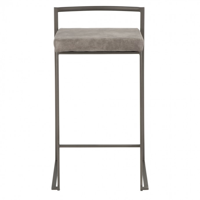 Modern glass swivel top coffee table Loreto