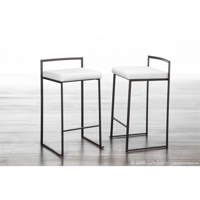 Modern glass and chrome rectangular motion coffee table Turin