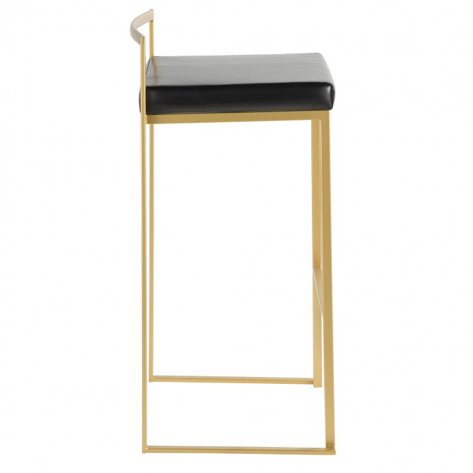 Modern round side table with casters and magazine holder Aprila