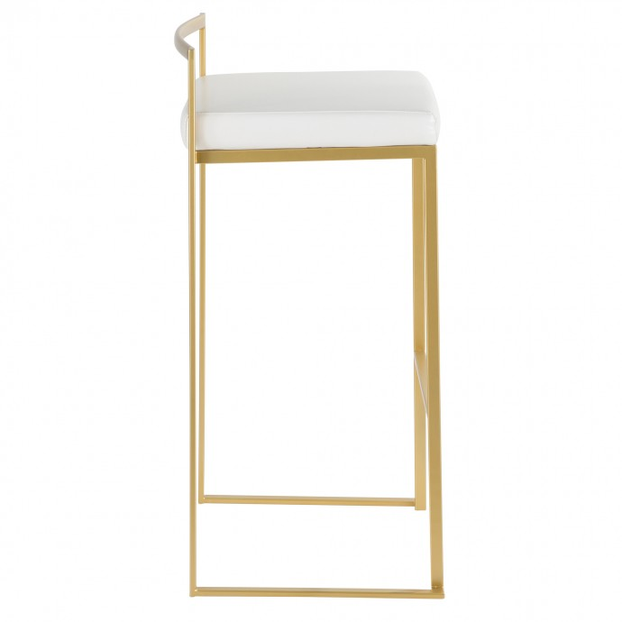 Modern Chromed and Glass Swivel Coffee Table Dew