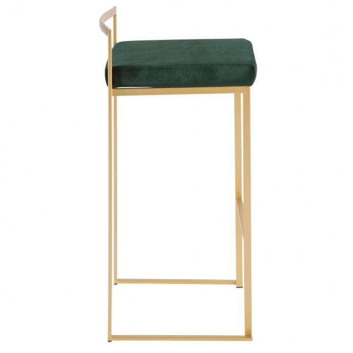 Modern Side Table with Magazine Rack Bobby