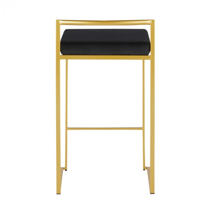 Industrial Stainless Steel Side Table Brick