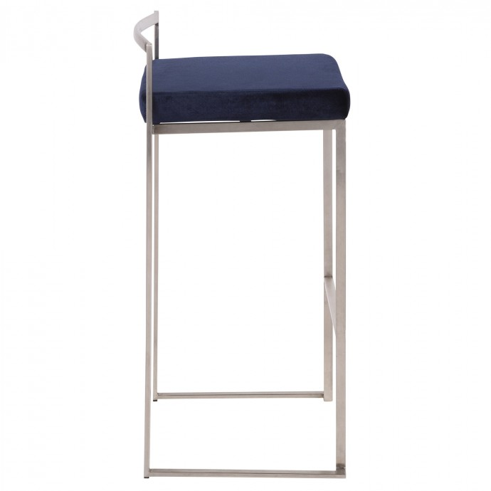 Mid-century Modern Fabric Club Chair Solo