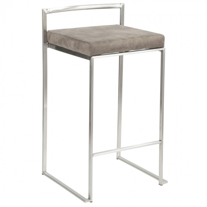 Mid-century Modern Fabric Lounge Chair Valencia