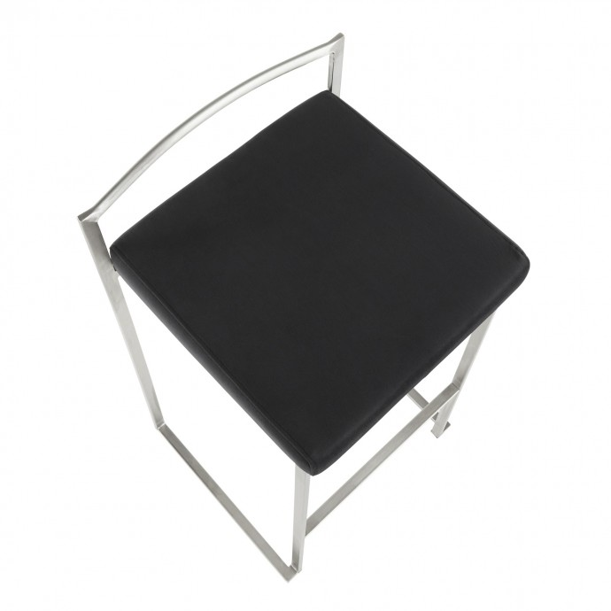 Modern Leatherette Lounge Chair Kent