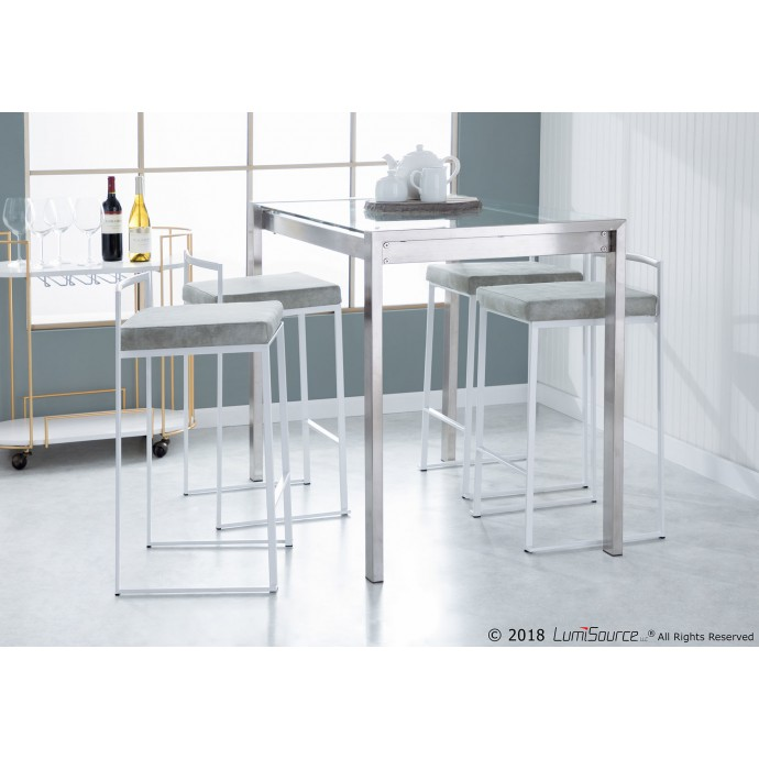 Mid-century Modern Fabric Lounge Chair Empoli