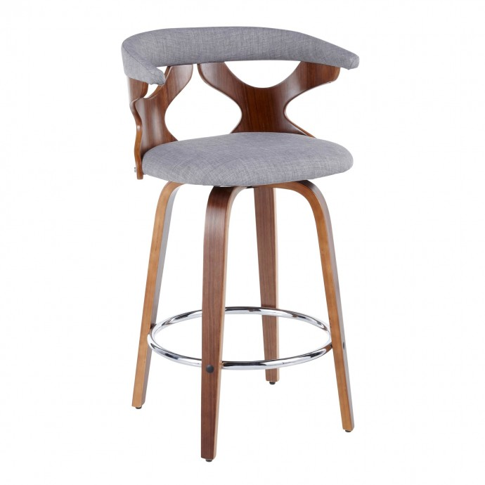 Modern Fabric Lounge Chair Reality