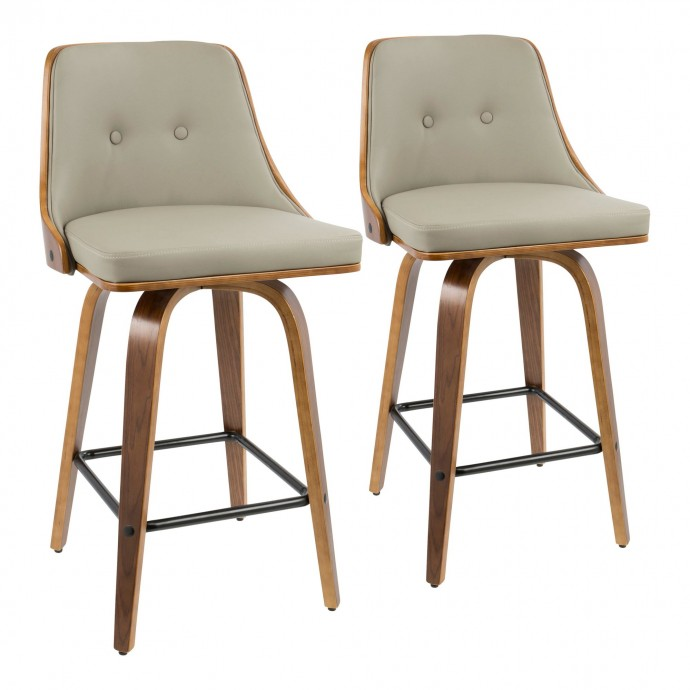 Fabric Lounge Armchair Patrick