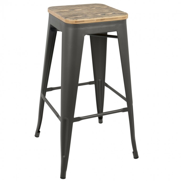 Brown Leatherette Lounge Armchair Buxton