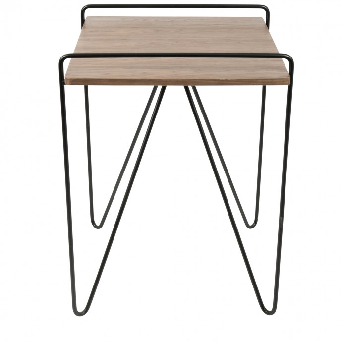 Mid-century Modern Fabric Lounge Chair Allegro