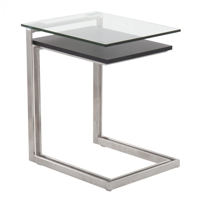 Contemporary Adjustable Black Bar Stool Captain
