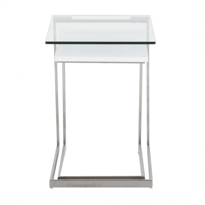 Mid-century Modern Bar Stool in Walnut and Brown Cecina