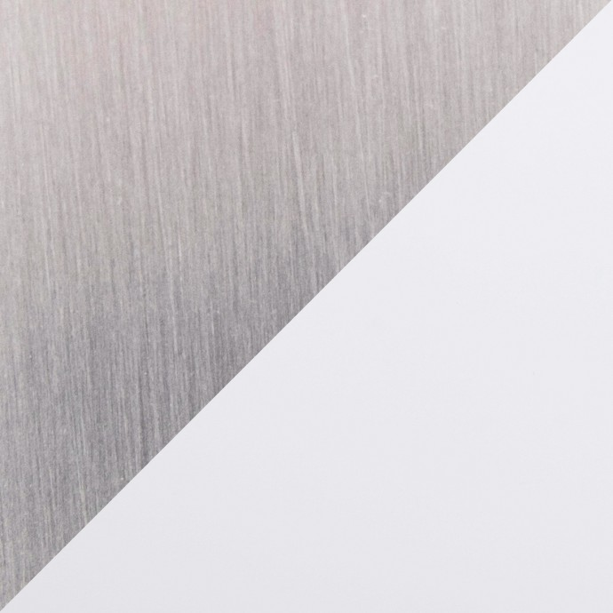 Mid-Century Modern Counter Stool In Walnut And Brown Cecina