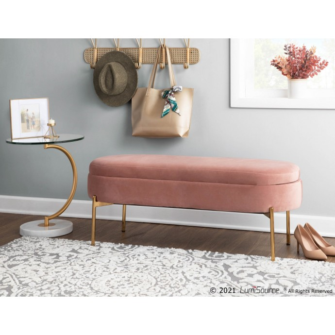 Mid-century Modern Orange Bar Stool Gardenia