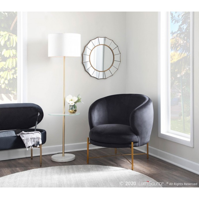 Contemporary White Bar Stool Jubilee