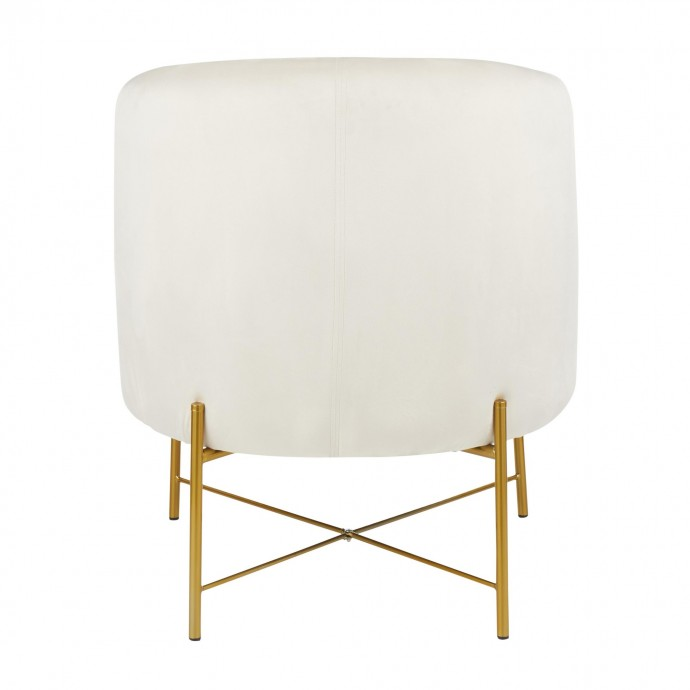 Mid-Century Modern Adjustable Bar Stool in Walnut and Grey Lombardi