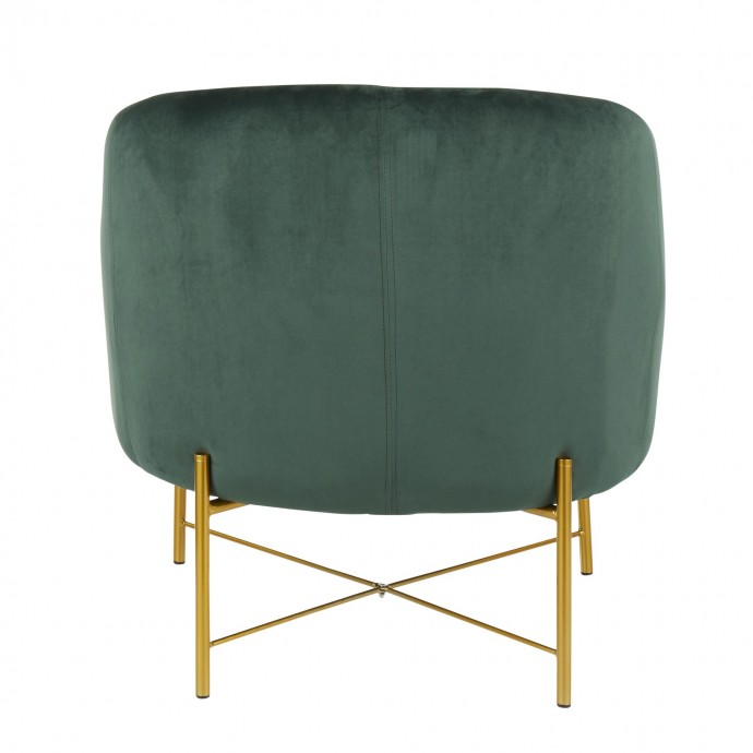 Mid-Century Modern Adjustable Bar stool in Walnut and Cream Maya