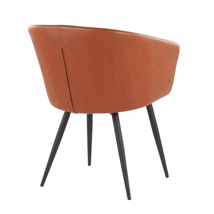 Mid-Century Modern Adjustable Bar stool in Walnut and Grey Pino
