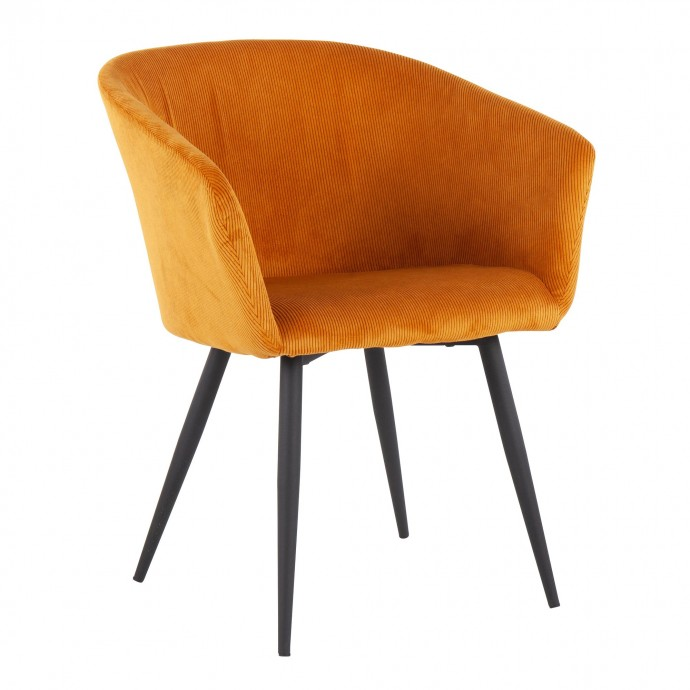 Height Adjustable Mid-century Modern Bar stool in Walnut and White Ravinia LumiSource - 1
