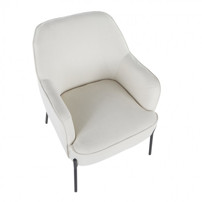 Adjustable Modern Bar stool in Walnut and Grey Vasari